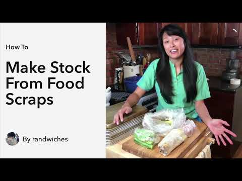 How to Make Stock from Food Scraps