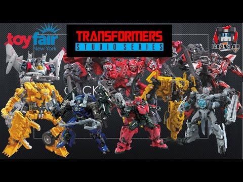 Transformers Studio Series Toy Fair Reveals, Release Dates & Reactions by Larkin's Lair