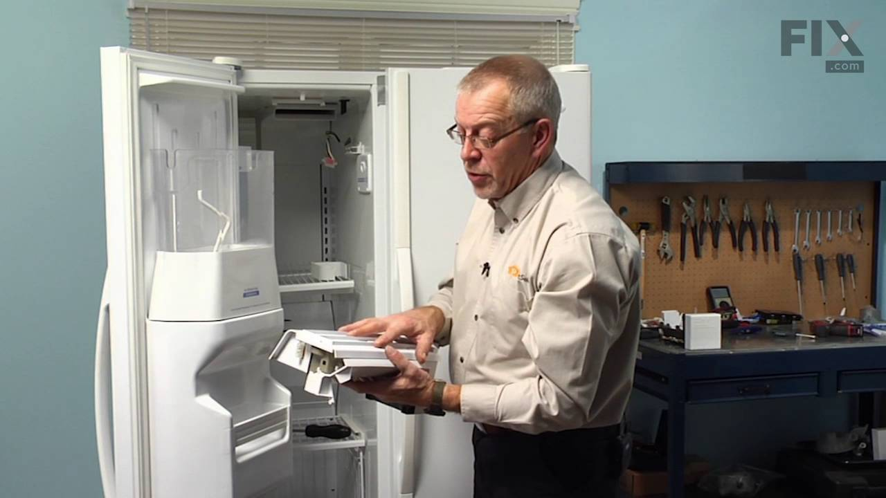 Whirlpool Refrigerator Repair - How to Replace the Ice