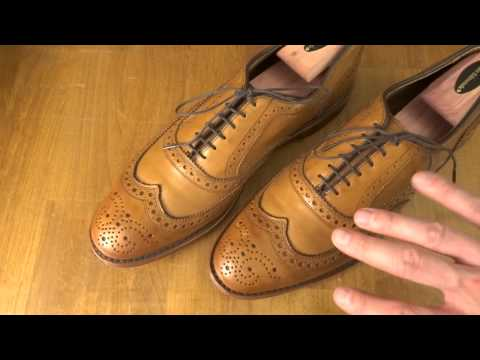 McAllister Wingtip Oxford Shoes by Allen Edmonds First Impressions - Fashion For Men Episode 07
