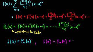 Série de Taylor: fórmula para o resto