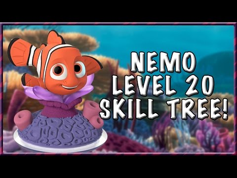 NEMO LEVEL 20 SKILL TREE! - Disney Infinity 3.0 Gameplay |