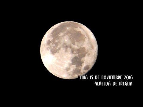 Super luna 15 de Noviembre 2016 desde Albelda de Iregua