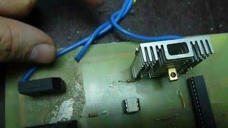 видео Трёхфазный двигатель в однофазной сети