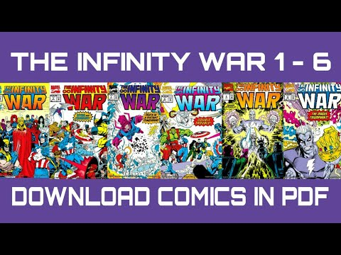 Download The Infinity War All 6 comics in PDF