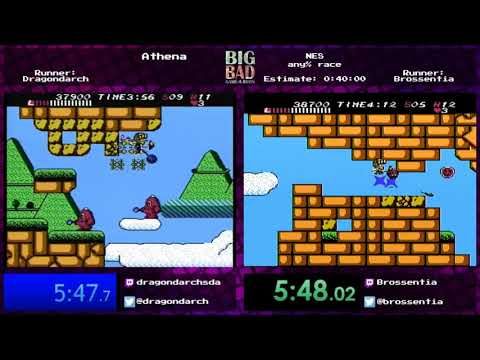 Big Bad Game-a-thon 2017 - Athena race by Dragondarch and Brossentia
