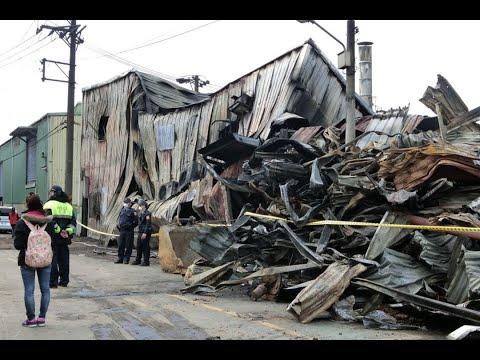 鐵皮工廠大火釀6死 學者嘆:出台北市就是無政府狀態