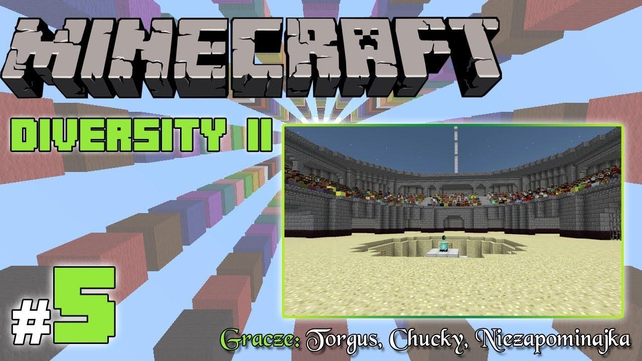 "Minecraft Escape: Diversity II z Torgus/Chucky! [5/x] – ""Arena"""