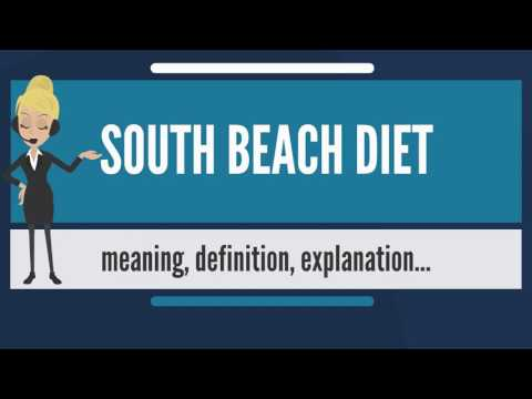 What is SOUTH BEACH DIET? What does SOUTH BEACH DIET mean? SOUTH BEACH DIET meaning & explanation