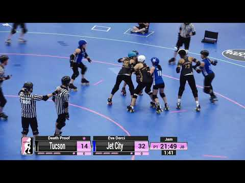 WFTDA Roller Derby - Division 2, Pittsburgh - Game 28 - Jet City vs. Tuscon