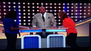 Woman Insults Husband's Penis on Family Feud