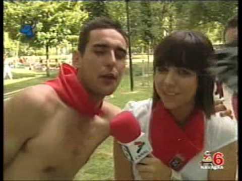 Reportaje Calle San Fermín 2007 - CANAL 6 NAVARRA