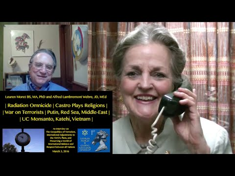 "⚛ ""Radiation Omnicide"" Leuren Moret interviewed by Alfred Webre ⚛"