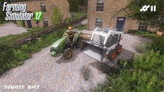 Building gravel driveway | Sandy Bay 17 | Farming Simulator 2017 | Episode 11