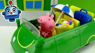 Peppa Pig Coche de Vacaciones Holiday Sunshine Car - Juguetes de Peppa Pig