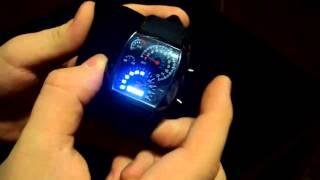 LED Часы Спидометр купить(, 2014-03-09T11:13:10.000Z)