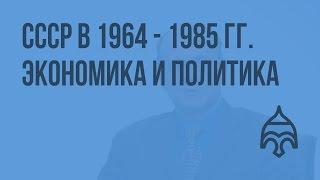 СССР в 1964 - 1985 гг. Экономика и политика. Видеоурок по истории России 11 класс