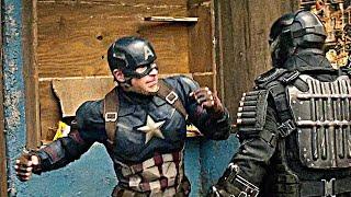 Попался звездна полосатый   Первый Мститель: гражданская война #капитанамерика #марвел #кино #веном