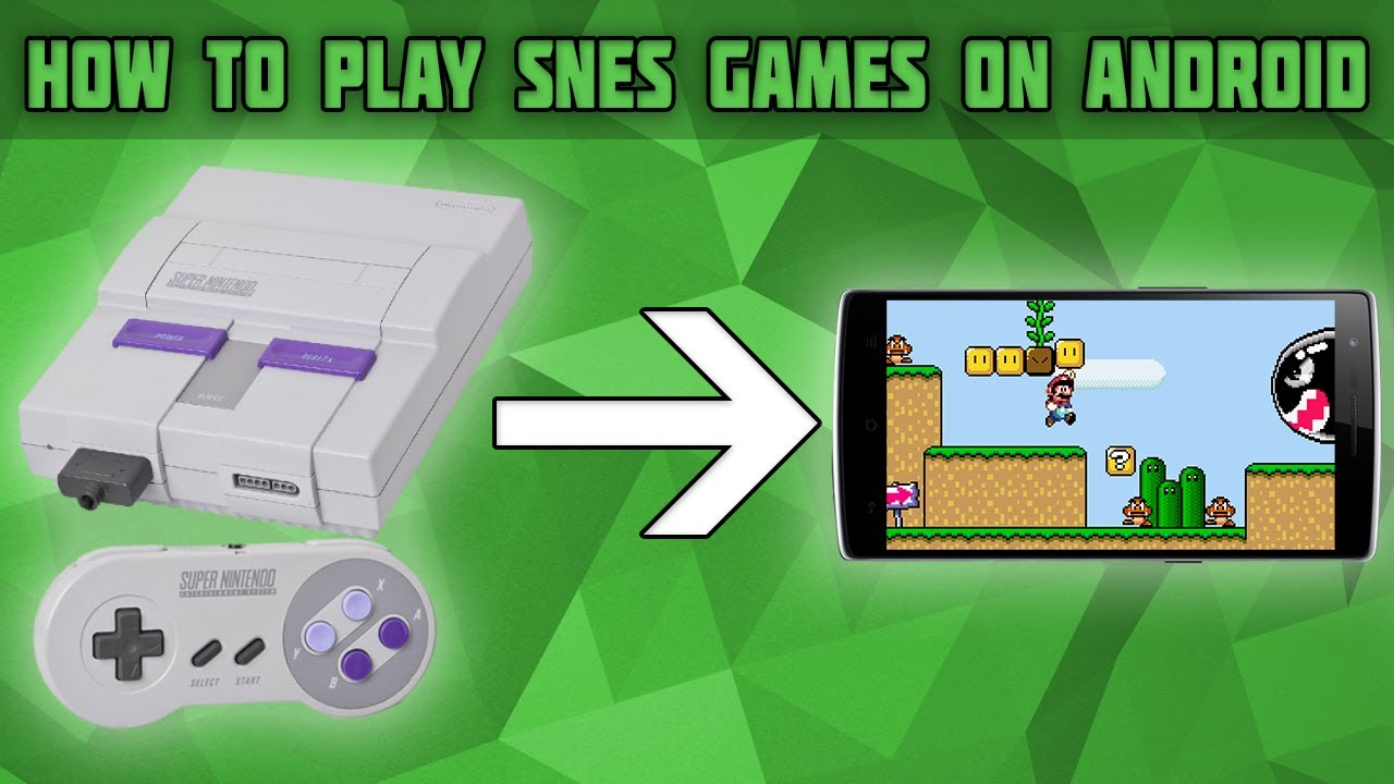 How to Play SNES Games on Android! SNES Android Emulator! Snes9x EX+ Setup  Tutorial!