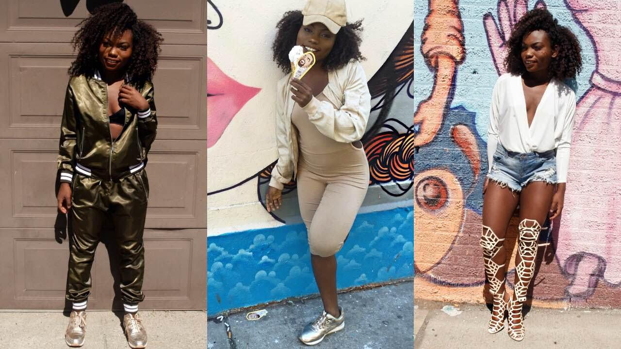 Instagram Baddie Inspired Outfits/LookBook - YouTube