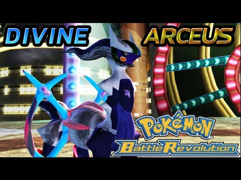 Divine Arceus - Pokemon Battle Revolution (HACK)