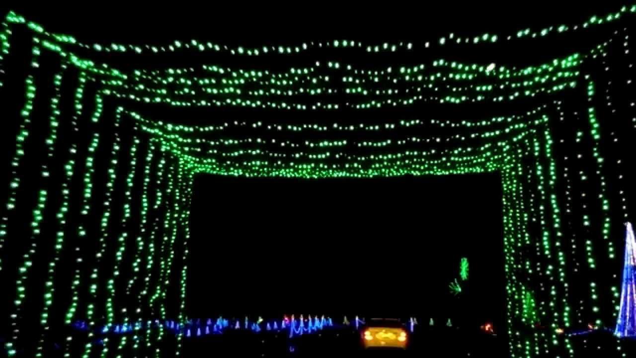 christmas lights myrtle beach sc youtube