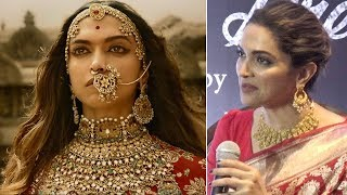 Deepika Padukone talks about her famous Padmavati Look | Video