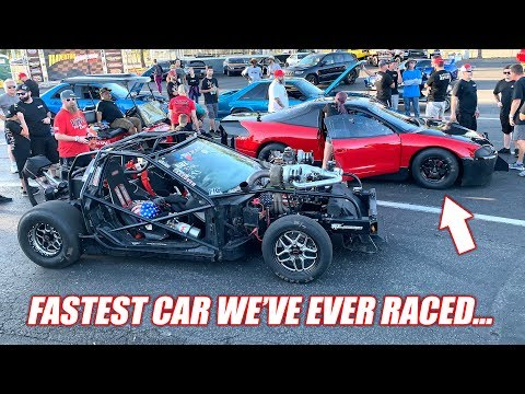 FL2K19 Day 2: Leroy Races the Fastest Stick Shift Car ON THE PLANET!!
