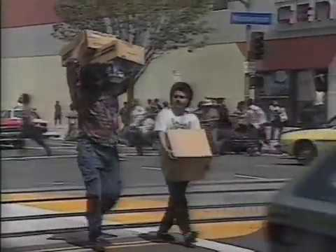 1992 LA Riots: Illegal Aliens Get Free Shit