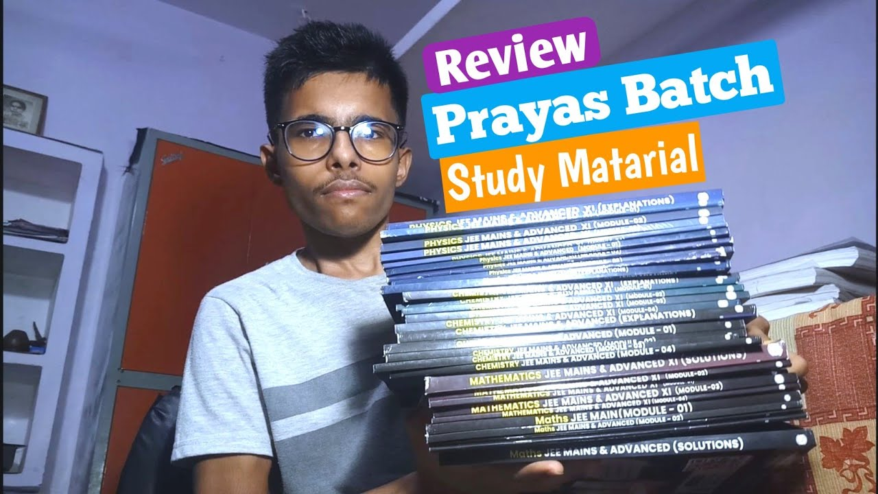 Download Prayas Batch Study Modules《Unboxing+Review》 [Jee Dropper] Study Material    Physics Wallah
