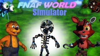 FNaF World Simulator | Episode 2 | The Invincible Fan?!