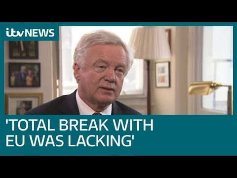 David Davis explains why he resigned as Brexit Secretary   ITV News