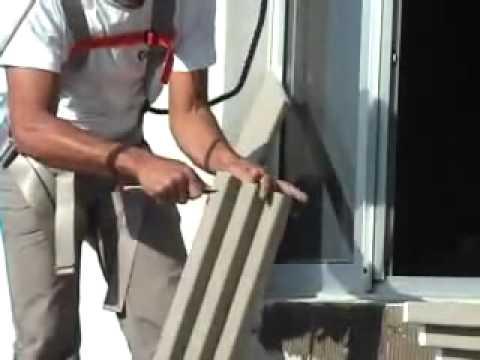 Moldura externa como instalar youtube - Molduras para ventanas exteriores ...