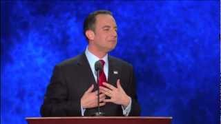 Reince Priebus Drunk At The RNC 2012