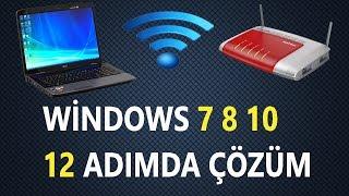 İnternete Bağlanamıyorum sorunu (windows 7 8 10)