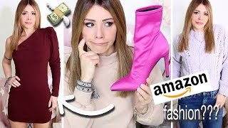 ASPETTATIVA vs REALTA': TRY-ON HAUL ABBIGLIAMENTO DI AMAZON !!! NUOVA LINEA DI MODA...EPIC FAIL??