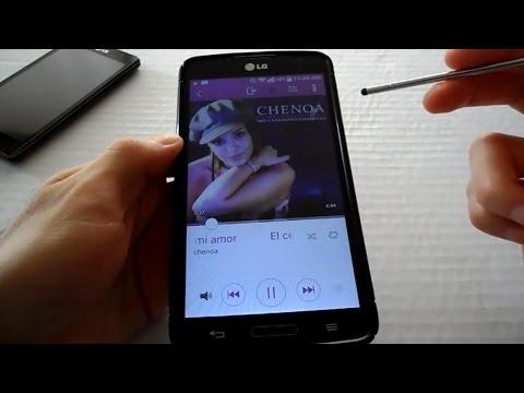 LG G Pro Lite Instalar Reproductor de Musica de LG G3
