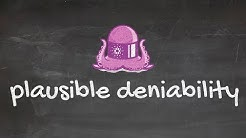 Cardano Blackboard Series #5: What is plausible deniability?