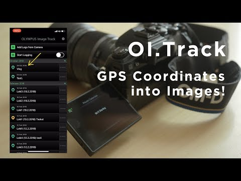 Geo Tagging Images With Your Olympus - OI Track App - YouTube