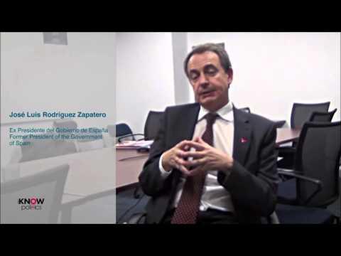 iKNOW Politics Interview with José Luis Rodríguez Zapatero