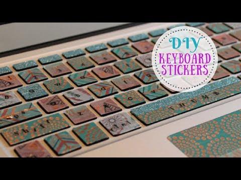 DIY Keyboard   Sticker   MacBook Keyboard   Fun Idea   Keyboard Decal