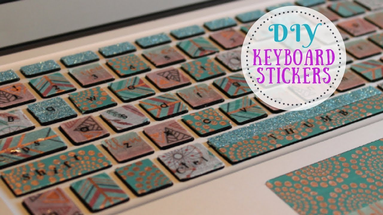 picture about Printable Keyboard Stickers known as Do it yourself Keyboard Sticker MacBook Keyboard Pleasurable Notion Keyboard Decal