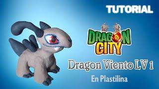 Dragon City/ Tutorial Dragon Viento en Plastilina/ How to make Wind Dragon with Plasticine