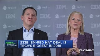 IBM Buys Red Hat for 33B