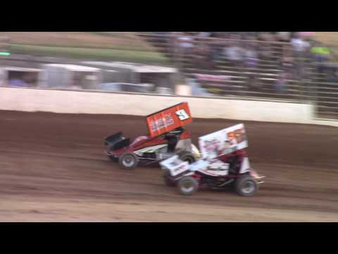 Trail-Way Speedway 358 Sprint Car Highlights 6-9-17