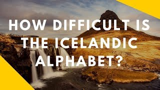 How Difficult Is The Icelandic Alphabet? | Watch 32 Foreigners Pronounce It For The First Time!!