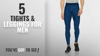 Top 10 Tights & Leggings For Men [2018]: Under Armour HeatGear 2.0 Leggings, Men