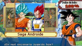 Dragon Ball Z Budokai Tenkaichi 3 - Modo historia AF MODS Goku FNF SSJ Blue Enfurecido #1