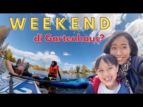Weekend Vlog   Altes Land Hamburg   Billerhuder Insel SUP with Insta360 One X2