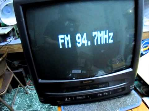 1999 Symphonic SCC-199V TV/VCR (Part 2) - YouTube
